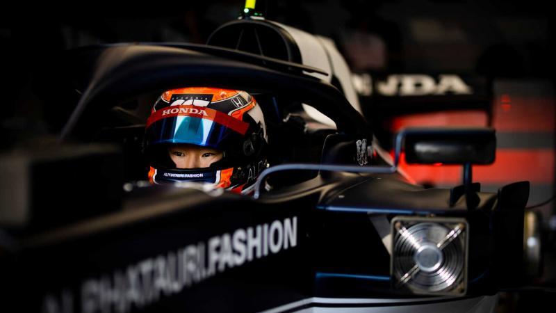 Yuki Tsunoda (AlphaTauri) calon bintang Jepang di kancah F1. (Foto: redbullcontent)
