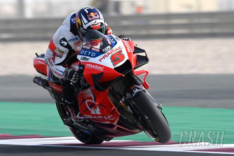 Johann Zarco (Prancis/Pramac Ducati), tinggal tunggu balapan sesungguhnya di GP Doha 2021. (Foto: crash)