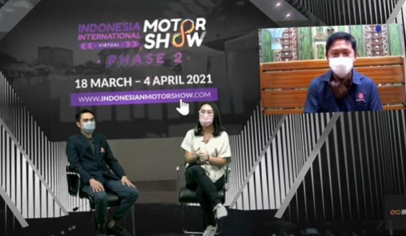 Presdir PT Dyandra Promosindo Hendra Noor Saleh dan Rudi MF (project manager) pada First Release ISSOM Hybrid 2021