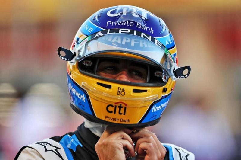 Fernando Alonso (Spanyol/Alpine). (Foto: renault)