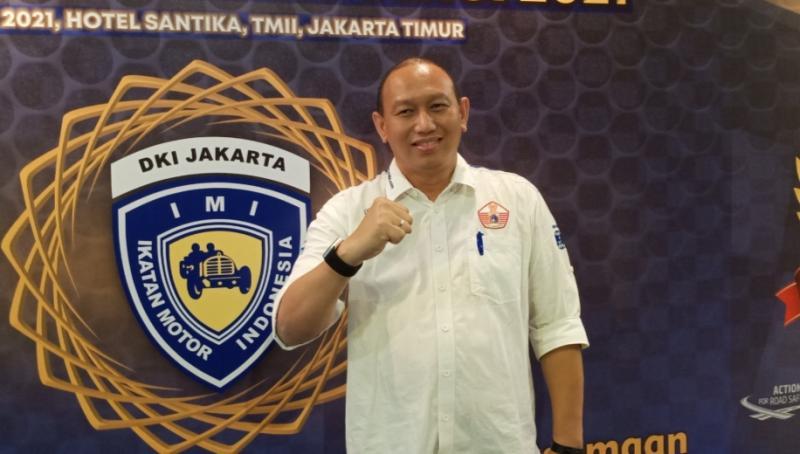 Anondo Eko mencetak sejarah dengan 2 kali menjadi Ketum IMI DKI Jakarta secara aklamasi. (foto : bs)