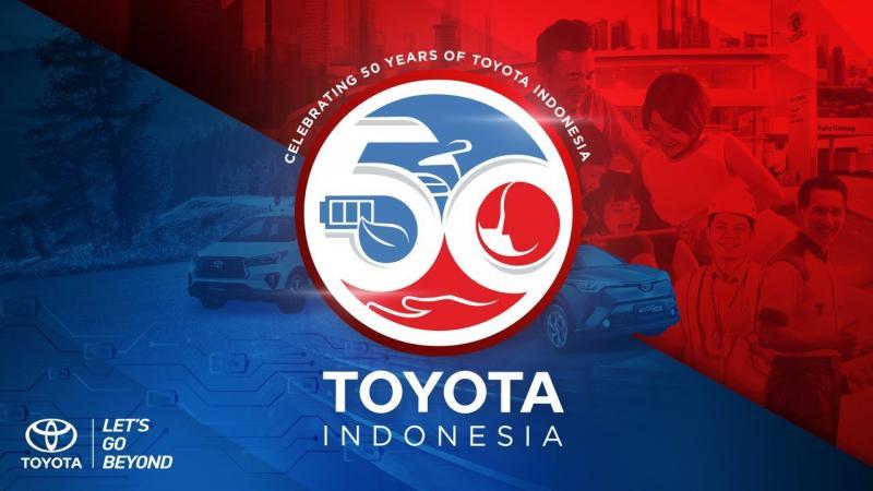 Merayakan 50 Tahun Karya toyota dengan pengembangan pelayanan untuk masyarakat Indonesia