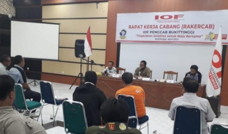 Meski belum dilantik, Pengcab IOF Bukittinggi telah menggagas program.