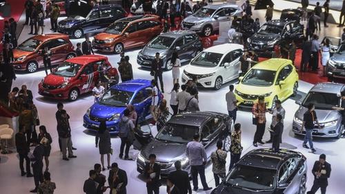 Ilustrasi pameran IIMS beberapa tahun lalu yang ikut mendukung perkembangan industri otomotif