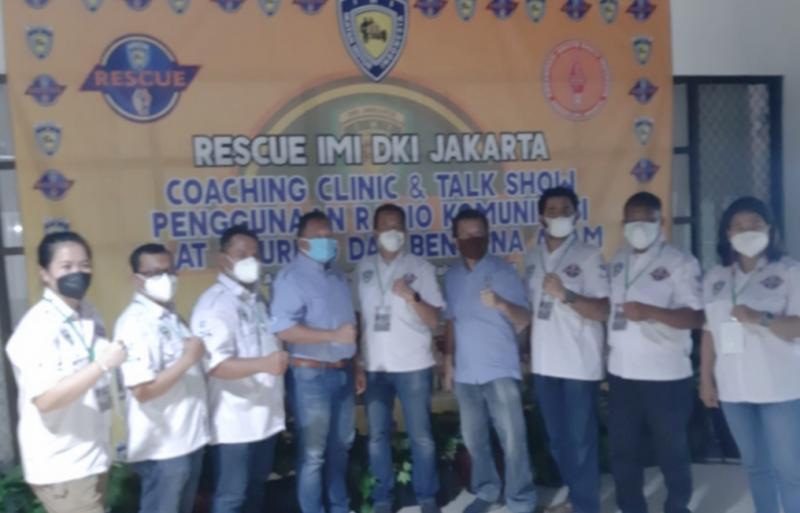 Team Rescue IMI DKI Jakarta selenggarakan Seminar penggunaan ORARI di Dapur Sunda Jalan MT Haryono Jakarta hari ini