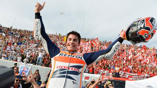 Marc Marquez Si Semut Cervera saat menjadi juara dunia termuda di MotoGP 2013, yang tak mungkin ia mungkinkan. (Foto: vroommagazine)