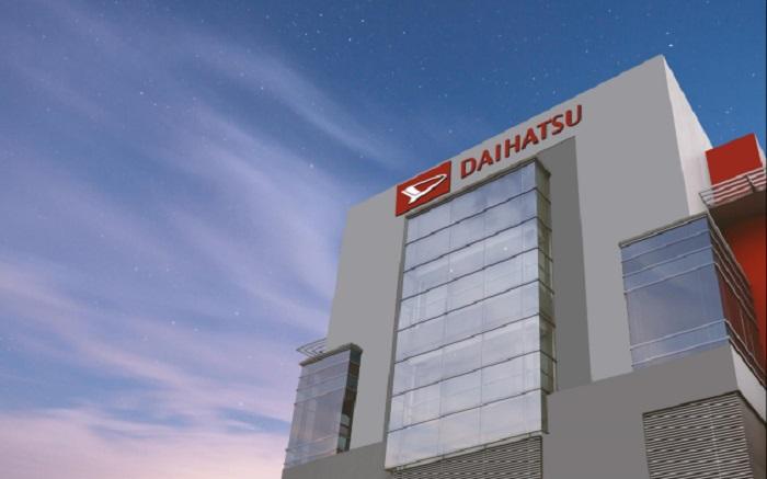 Gedung Daihatsu yang menjadi pusat ide dan pengembangan teknologi untuk memberikan produk terbaik bagi masyarakat