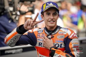 Marc Marquez (Spanyol/Honda) kembali sibuk di lintasan MotoGP pekan ini. (Foto: gpone)