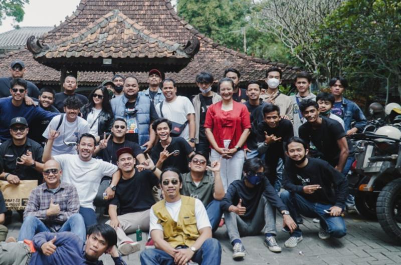 Rindu Berkendara komunitas motor Bogor di Resto Solo jl Padjajaran Bogor