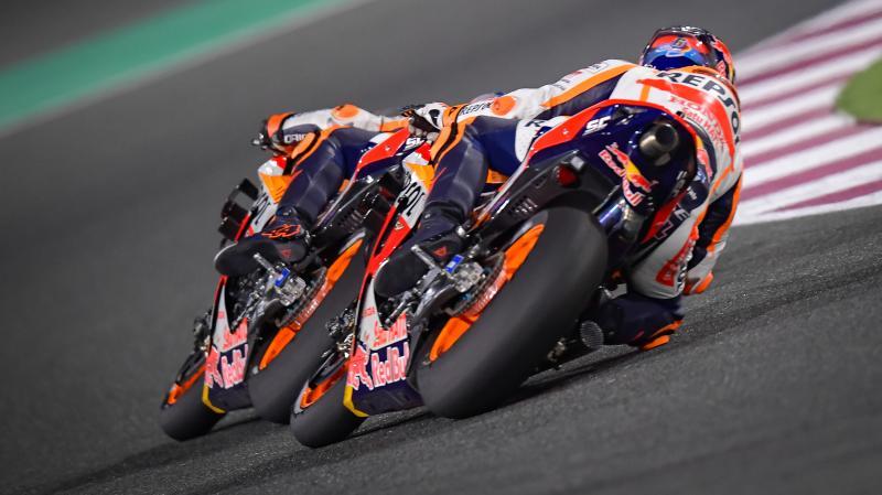 Honda kini datang dengan Marc Marquez di Portimao, susah diprediksi hingga sesi kulaifikasi selesai. (Foto: motogp)