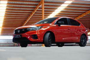 Tampilan sporty Honda City RS yang memiliki karakter sporty untuk yang berjiwa muda