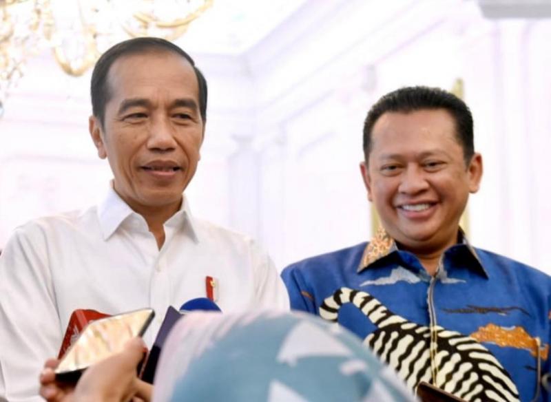 Bamsoet bersama Presiden Jokowi, mendukung industri dan legalitas modifikasi kendaraan anak bangsa