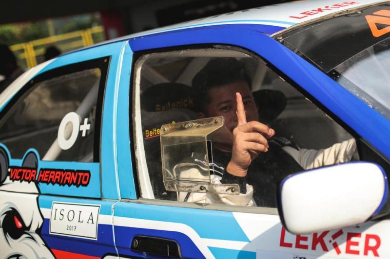 Victor Herryanto, berbaakat dan memiliki tekad besar untuk menjadi yang terbaik. (foto : adrian pradana)