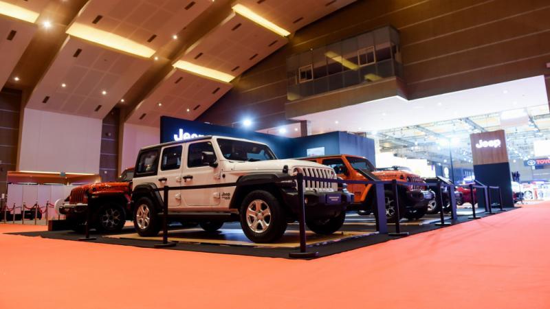 Jeep turunkan line up terbaik di pameran IIMS Hybrid 2021