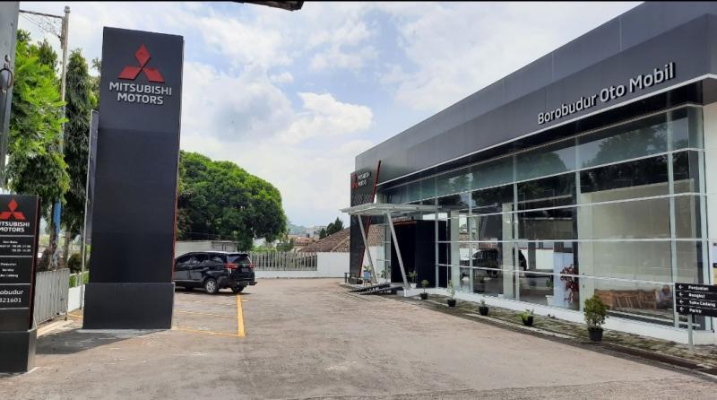 Mitsubishi Borobudur Oto Mobil menjadi dealer pertama Mitsubishi Motors di Wonosobo, Jawa Tengah diresmikan hari ini