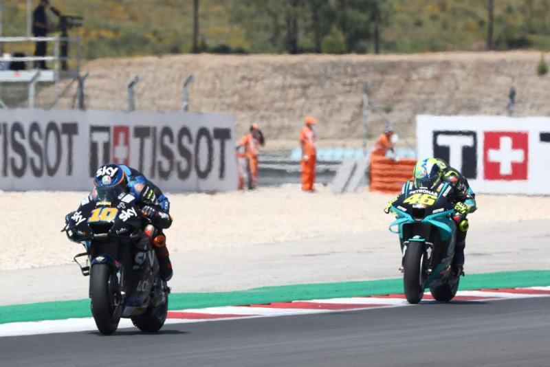 Motogp 2021 Ini Kisah Duel Bersaudara Di Portimao Rossi Vs Marini Dan Marc Vs Alex Marquez