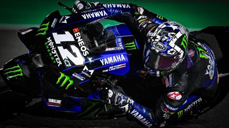 Maverick Vinales (Spanyol/Yamaha), rada ragu menuju race di negeri sendiri awal bulan depan. (Foto: ruetir)