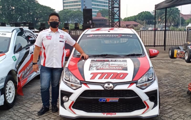 Anjasara Wahyu dikenalkan balap pada usia 2,5 tahun dengan menonton sang ayah main sprint rally di Cisauk, BSD, Tangerang