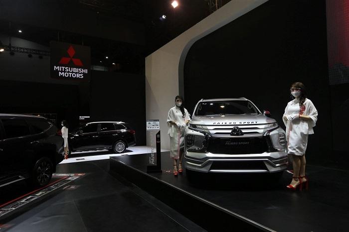 New Pajero Sport, Salah satu produk andalan Mitsubishi di pameran IIMS Hybrid 2021