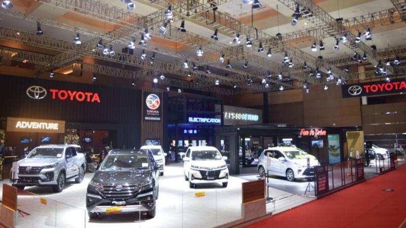 Toyota hadirkan Total Mobility Solution di ajang IIMS Hybrid 2021, 15-25 April di JI-Expo Kemayoran Jakarta