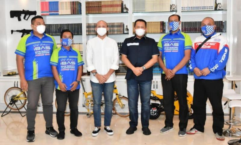 Terima tim balap motor Ibas Racing Team, Bamsoet dorong lahirnya lady racer berprestasi