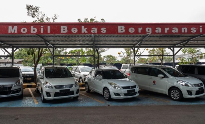 Program Extra Cash Back Rp 4 juta dan trade-in dengan mobil baru dari Auto Value PT Suzuki Indomobil Sales