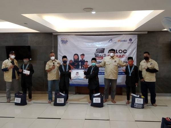 Komunitas ANLOC Indonesia menyantuni anak yatim di Bulan Suci Ramadhan