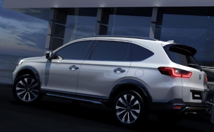 N7X Concept memadukan kenyamanan premium danke lapangan khas dari MPV dengan ketangguhan dan gaya sebuah SUV.