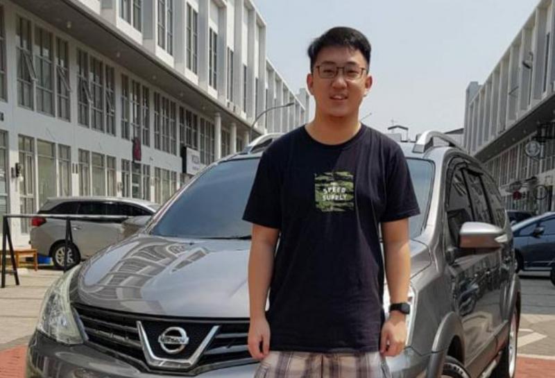 Carlos Max, pilih mengalah daripada kena tabrak Adrian Paruntu di Group C Ramadhan Balap Indonesia 2021