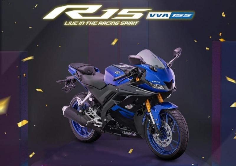 Yamaha R15 sebagai best sport fairing 150cc dari ajang Otomotif Award 2021