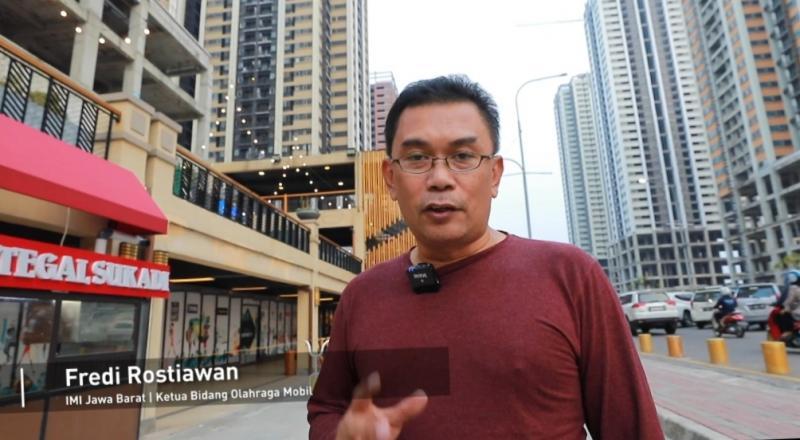 Fredi Rostiawan, penggagas event 6 cabor IMI secara berbarengan di Meikarta, Bekasi, direncanakan Agustus 2021
