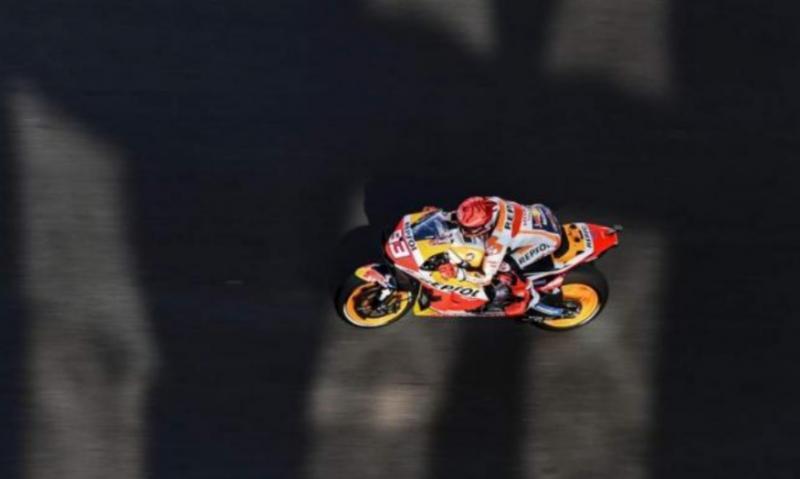 Marc Marquez (Spanyol/Repsol Honda), kembali belajar memahami RC213V. (Foto: therace)