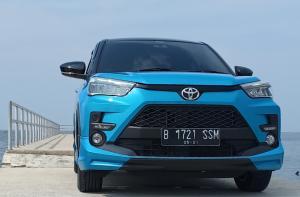 All New Toyota Raize menjadi primadona baru SUV 5 seater dari Toyota Astra Motor kini gratis biaya suku cadang servis berkala. (foto : bs)