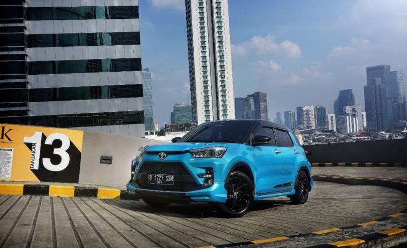 Toyota All New Raize menjadi SUV compact 5 seater yang sangat diminati konsumen dan pelanggan dengan telah mencetak SPK 1.269 unit dalam sepekan