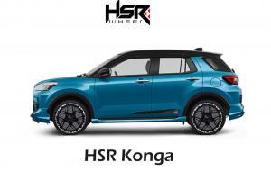 HSR Wheel siapkan pelek terbaru untuk Toyota Raize, Daihatsu Rocky dan Honda City Hatchback