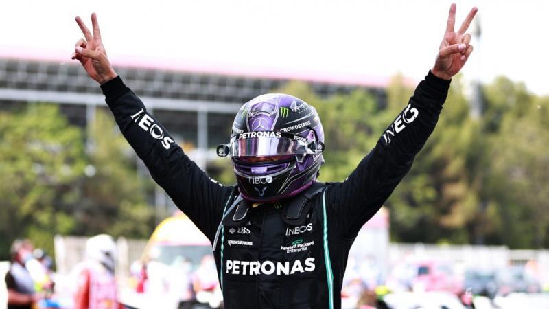 Lewis Hamilton (Inggris/Mercedes) memang unggul pengalaman di GP Spanyol. (Foto: f1)