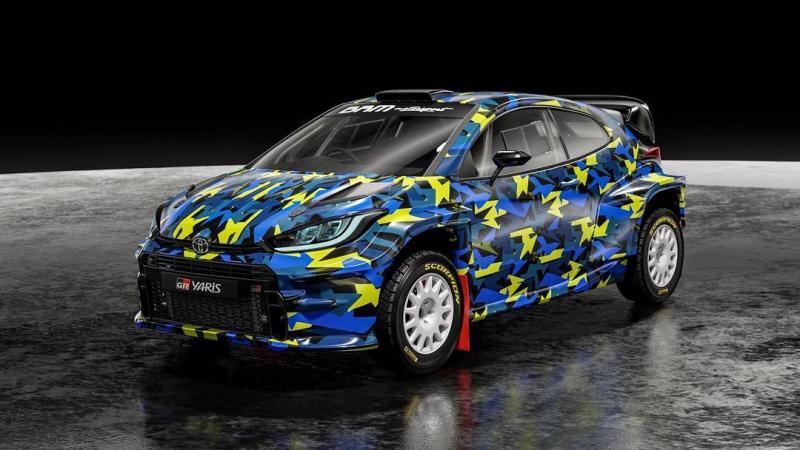 Mobil Toyota GR Yaris yang akan jadi mobil reli Ryan Nirwan (foto: ist)