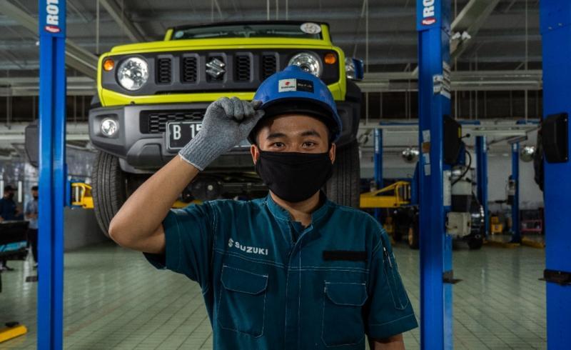 Bengkel resmi Suzuki siapkan layanan darurat selama libur Lebaran 2021