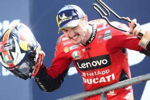 Jack Miller (Australia/Ducati) sudah layak bidik hattrick di GP Italia dua pekan mendatang. (Foto: motorsport)