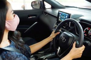 AutoFamily merasakan kenyamaman tersendiri ketika berada dalam kabin kendaraan Toyota yang bersih dan sehat