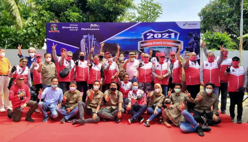 Para Legenda Balap Nasional bersiap menuju Kilometer Nol di Sabang.