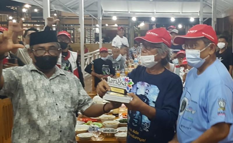 Legend Riders dijamu makan malam Sekda Langsa Aceh di Dapu Kopi