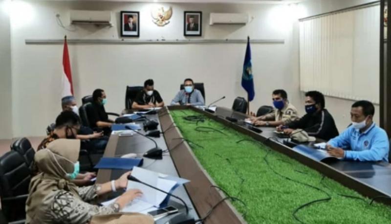 IMI Sumbar dan panitia Kejurnas Motoprix 2021 lakukan rapat teknis bersama SKPD pada Jumat (4/6/2021) siang di Kantor Walikota Sawahlunto.