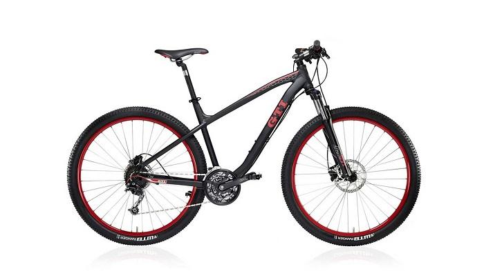 Sepeda gunung GTI yang diproduksi oleh produsen mobil Volkwagen dengan bingkai alumunium dan fitur-fitur canggih