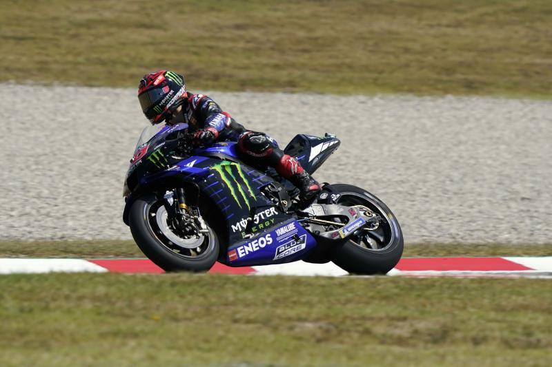 Maverick Vinales (Spanyol/Yamaha), mulai rasakan sentuhan teknis berbeda dari Silvano Galbusera. (Foto: yamaha)