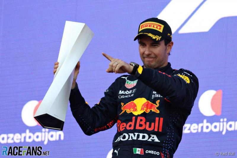 Sergio Perez (Meksiko/Red Bull Honda), bukan pembalap kacang yang lupa kulit. (Foto: racefans)