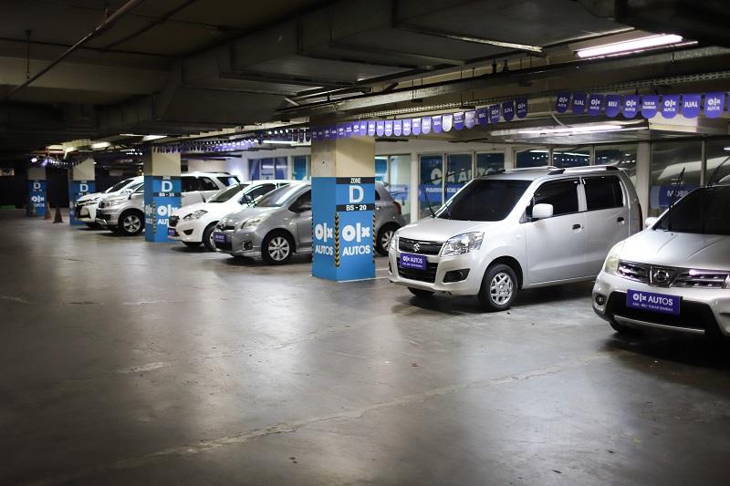 Deretan mobil bekas yang disediakan OLX Autos untuk konsumen yang mencari unit second berkualitas