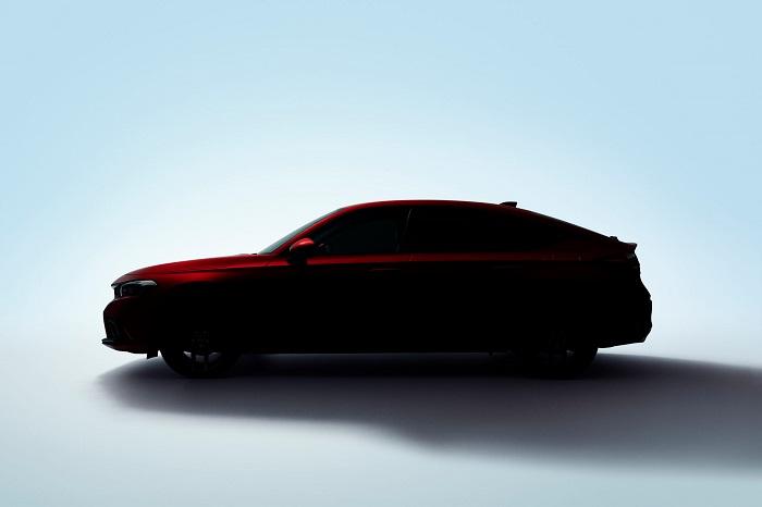 Tampilan Keren Honda Civic Hatchback dalam Gambar Teaser yang dirilis Honda