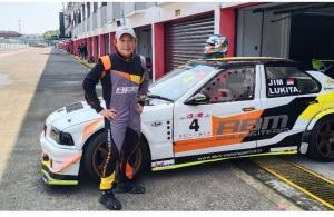 Jimmy Lukita, menjadi satu-satunya pembalap tim ABM Motorsport yang berkiprah di ISSOM 2021. (foto : bs)