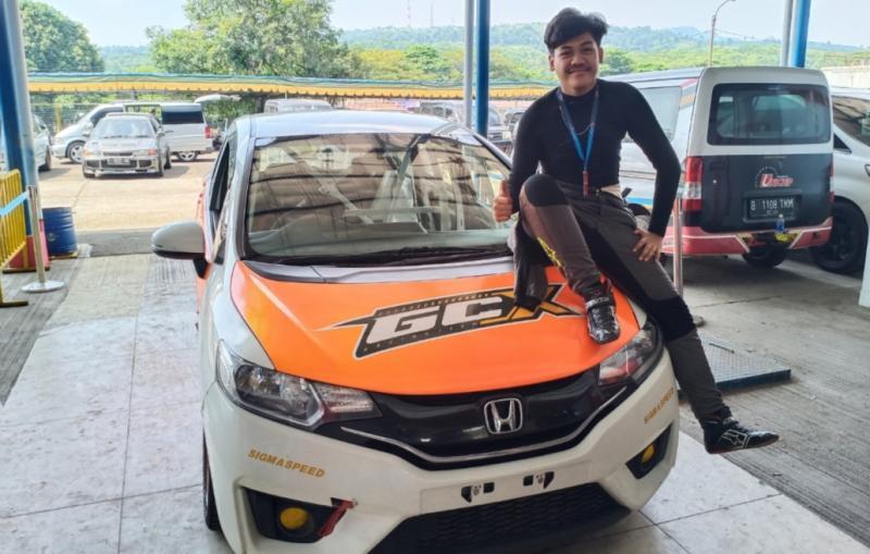 Vivaldhi Dwi Putra Wijaya, siap rebut podium kelas Promotion Honda Jazz Speed Challenge 2021